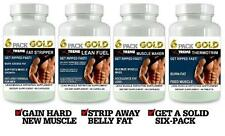 6 Pack Fat Burner Lean Muscle Pills X Growth Builder Abs Fat Loss Energy Set 4