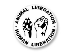 Pin Button Badge Ø38mm Logo ALF Animal Liberation Front
