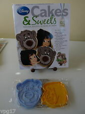 EAGLEMOSS DISNEY CAKES & SWEETS BALOO &  MOWGLI  CUTTER  & EMBOSSER  No 55  NEW