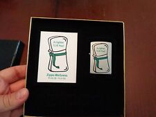 A LIGHTER SLIM YOU EMPLOYEE ONLY ZIPPO LIGHTER MINT IN BOX 2009 RARE