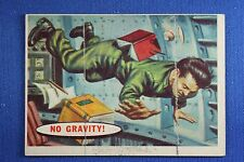 1957 Topps Space Cards - #20 No Gravity - Excellent Condition