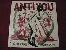 ANTI YOU Two-Bit Schemes And Cold War Dreams LP Six Weeks Raw Power Minor Threat