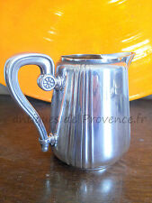 CHRISTOFLE GALLIA Antique milk pot server creamer egoiste 1900 / pot à lait