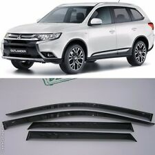 For Mitsubishi Outlander 12-16 Window Visors Side Sun Rain Guard Vent Deflectors