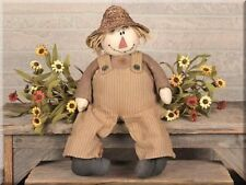 Small George Scarecrow by Honey and Me