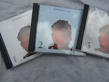 BOB DYLAN X3 CD'S / CD BIOGRAPH 1 2 & 3 INDIVIDUAL CD'S cbs 66509 near mint