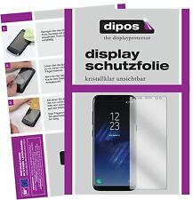 2x Samsung Galaxy S8 Screen Protector Protection Crystal Clear dipos
