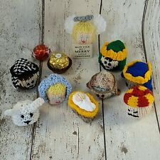 NATIVITY Christmas KNITTING PATTERN Lindt Lindor/ Ferrero Rocher cover/cosy