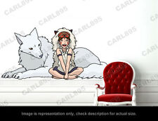 Princess Mononoke - Mononoke Wall Art Applique Sticker