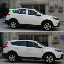 Stainless Steel Window Pillar Posts Trim For Toyota RAV4 2013 2014 2015 2016