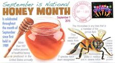 """COVERSCAPE computer designed National Honey Month 2015 event cover"