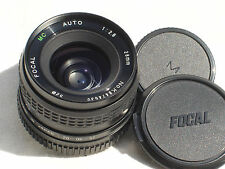 FOCAL MC AUTO 28mm f 2.8 LENS for MINOLTA MD mount cameras