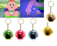 DISCO BALL KEYRING CLARENCE BOYS GIRLS GIFT BIRTHDAY PARTY BAG FILLERS FAVOR
