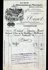 """VINCENNES (94) USINE de CONFISERIES """"A L'ABONDANCE DES DOUCEURS ,J. TISSOT"""" 1925"""