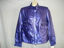 STYLED BY SAM SABOURA DESIGNER SNAP & ZIP FRONT JACKET COAT NWT GORGEOUS SALE!