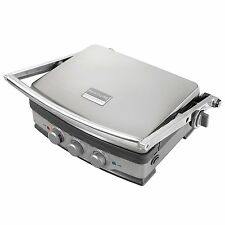 Frigidaire Professional 5-in-1 Non-Stick Stainless Steel Grill and Griddle Press