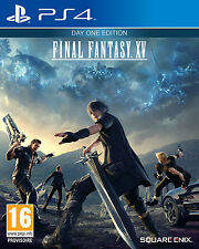 Final Fantasy XV . Edition Day One.  Ps4 neuf Sous Blister. 5021290072954