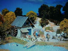 Faller H0 131242 Wassermühle mit Mühlrad und Anbau Bausatz NEU