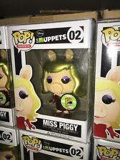 Funko POP! Muppets #02 MISS PIGGY - METALLIC CHASE VARIANT Comic-Con 2013 SDCC