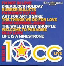 10CC: THE BEST OF 10CC LIVE - PROMO CD ALBUM (2007)