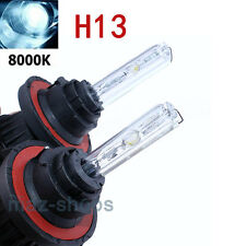 2X H13 8000K AC HID Headlight Replacement Bulbs Bi-Xenon Hi Lo Dual Beam 35W
