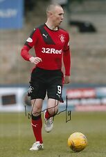 RANGERS HAND SIGNED KENNY MILLER 12X8 PHOTO PROOF 3.