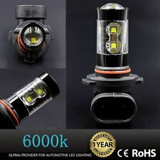 2x 50W H10 9145 OEM PRICE High Power LED CREE 6000K Super White Fog Lights Bulbs