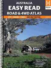 Hema Australia Easy Read Road & 4WD Atlas *FREE SHIPPING - IN STOCK - NEW*
