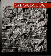 15 molds  *SPARTA* for concrete or plaster  wall stone stackstone tiles DIY ***`