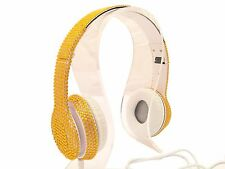 blingustyle fashion retro Bling bling Crystal Diamante Ear-Cup headphone NG