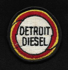 "Vintage DETROIT DIESEL 2.5"" Auto Engine Trucker Tractor Collectors Patch"