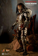 "HOT TOYS 1/6 PREDATORS MMS162 CLASSIC PREDATOR MASTERPIECE 14"" ACTION FIGURE UK"