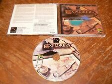 Explorers Of The New World PC/Mac CD-ROM Future Vision game for Windows 95/3.1