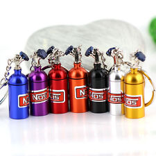New Fashion Creative Metal Car Keyring Keychain Key Chain Ring Keyfob Gift