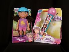 Dora the Explorer Everyday Adventure Rollerskater Dora and Microphone Bundle
