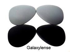 Galaxy Lentes De Repuesto Para Ray Ban RB3025 Aviador negro y plata 62mm