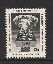 UNITED NATIONS, NEW YORK # 133 MNH 1964 NUCLEAR TEST BAN TREATY