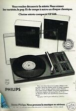 Publicité advertising 1975 Hi-Fi Chaine Stereo Compacte GF 614