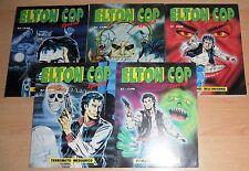 ED. CENTER TV  SERIE  ELTON COP SPECIAL  N°  1/5   CPL  1991  ORIGINALE  !!!!!