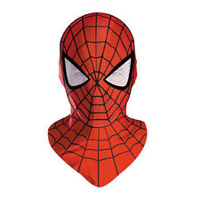 Spider Man 2 Movie Superhero Adult Dress Up Fabric Costume Hood Mask Disguise