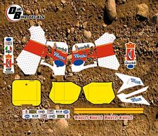 KTM 1989 125 250 500 MX CHESTERFIELD FULL KIT MOTOCROSS DECALS STICKERS GRAPHICS