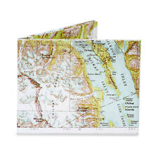 The Mighty Wallet Explorer Tyvek Paper Slim Money Dynomighty Map New