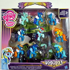 My Little Pony Wonderbolts Cloudsdale 10 Mini Figure Collection Rainbow Dash
