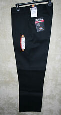 NWT Dickies 874 Jeans long pants 4pocket  zipper front Black 34W 30I mens