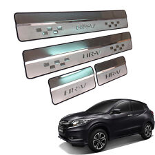 Fit 2015 2016 Honda HR-V HRV VEZEL Suv Door Sills Scuff Plate Door step Chrome