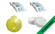 TASSIMO Service Cleaning Disc + 2 Descaling Tablets + 2 Puly Caff Tablets