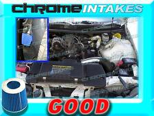 BLACK BLUE 98-02 CHEVY CAMARO/PONTIAC FIREBIRD 3.8L V6 FULL COLD AIR INTAKE KIT