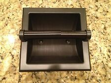 Oil Rubbed Bronze Recessed Toilet Paper Holder RV