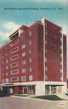 Postcard Wilmary Apartment Building Anderson SC