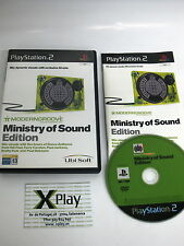 PS2 Moderngroove Ministry of Sound Edition Pal España Completo Envio combinable